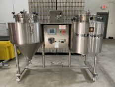 NSI Newlands 2-Vessel Yeast Propogation System with Controls - Subj to Bulk | Rig Fee: $250