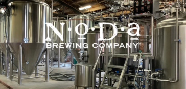 NoDa Brewing | 15 BBL 2-Vessel Brewhouse + Whirlpool, CLT, HLT, 30 BBL Fermenters & Brites, (2) Glycol Chillers, Boiler, Pumps, RMS Mill & More