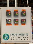 2011 Premier Stainless 6-Tank Cellar Control Panel - Subj to Bulk | Rig Fee: $100