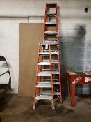Lot of (2) Step Ladders, (1) 10', (1) 6'   Rig Fee: $25
