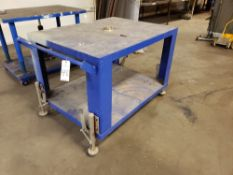 Work Bench, W/ Casters   Rig Fee: $20