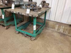 "Portable Welding Table, 36""x48""x1/4""   Rig Fee: $10"
