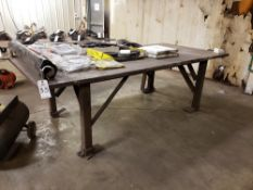 "Welding Table, 51""x108""x1.5""   Rig Fee: $85"