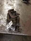 Lot of (6) C-Clamps   Rig Fee: $10