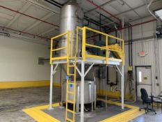 AIRECON MODEL 15 SPIN FLO WET DUST COLLECTOR SYSTEM; S/N P-1515 (2009) WITH NYB 264 | Rig Fee: $2800
