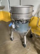 """24"""" SWECO SIFTER MODEL LS24544 PORTABLE VIBRATORY SIFTER; S/N N/A, 1/3 HP 