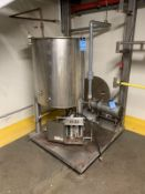 """STAINLESS STEEL TANK 30"""" DIAMETER X 36"""" STAINLESS STEEL TANK WITH 3 HP CENTRIFUGAL 