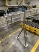 """2"""" SANITUBE MODEL TCBV-200 STAINLESS STEEL VALVE WITH STAND, 316 STAINLESS STEEL 