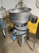 """24"""" SWECO SIFTER MODEL L PORTABLE VIBRATORY SIFTER; S/N N/A 