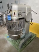 HOBART 80 QUART MIXER MODEL L-800; S/N 11-043-672, 1.5 HP, 60 HZ, 3-PHASE WITH (3) | Rig Fee: $300