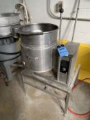 10 GALLON CLEVELAND ELECTRIC KETTLE MODEL KET-10T TABLE TOP ELECTRIC TILTING SELF-C | Rig Fee: $100