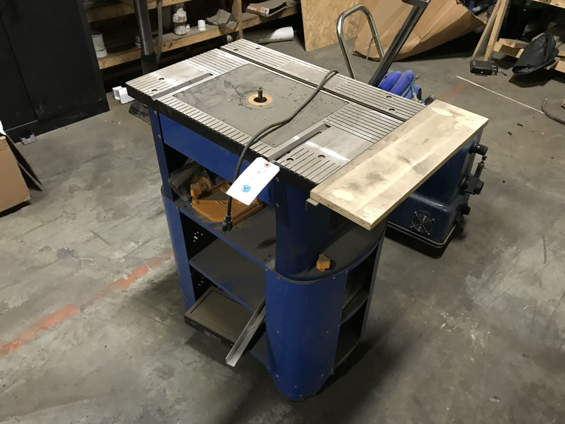 Lot 61 - Central Machinery Router Table w/Stand