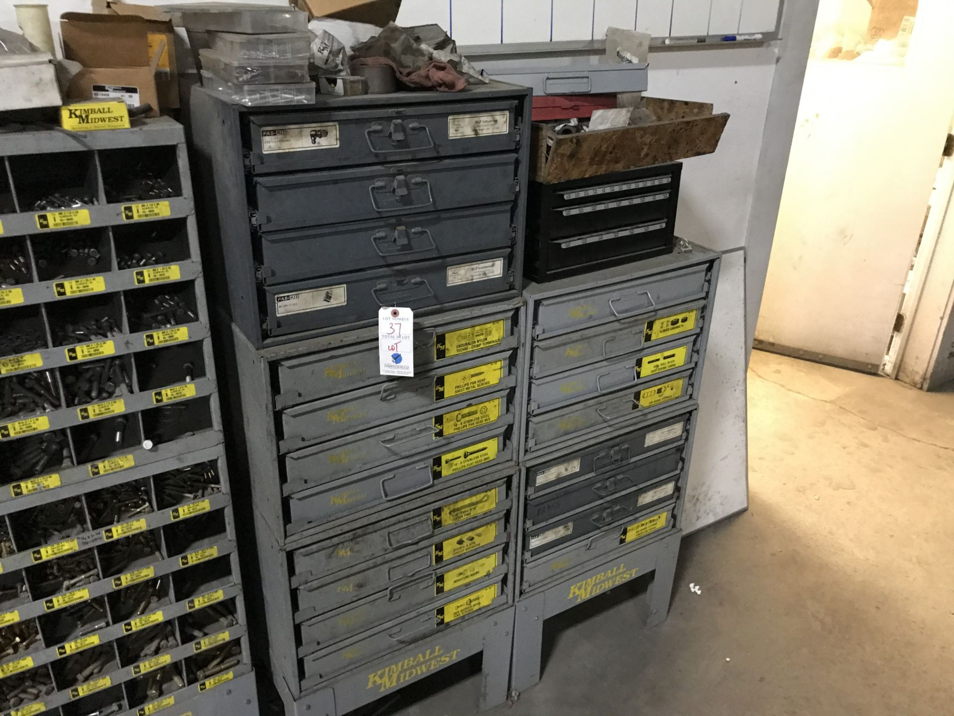 Lot 37 - {LOT} Asst. Hardware w/Cabinets