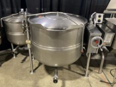 Market Forge #DLT-80 80 Quart Steam Jacketed SS Tilting Kettle