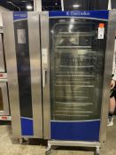 Electrolux Air-o-Steam Touchline #AOS202GTP1 Natural Gas Combi Oven S/N: 05104001, 378,000 BTU,