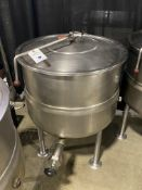 Market Forge #DL-40 40 Quart Steam Jacketed SS Kettle