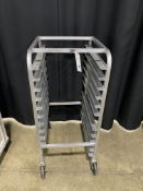 1/2 Sized Portable Pan Rack