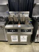 Frymaster #FPH250SD SS Portable Gas Twin Fryer