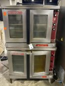 Blodgett Mark V Twin Stacked Gas Double Convection Oven