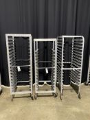 Asst. Aluminum Portable Pan Racks