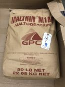 Bag of 50 Lb. Maltrin M100 Maltodextrin