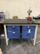 (4) Asst. Sized & Style Desks & Chair