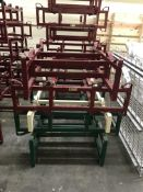 {LOT} 5 Asst. Keg & Barrel Holders