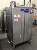 Custom Metalcraft Square Fermentation Tank #516876, 550 Gallon, Glycol Jacketed, 304 Stainless