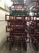 {LOT} (7) Keg & Barrel Holders - 6 Topco & 1 Western Square