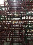 {LOT} 11 Keg & Barrell Holders in 1 Stack