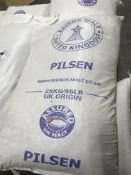 {LOT} On 2 Pallets 55 Lb. Pre Milled Ground Mill Grain Pilsen Malt Approx. 60 Bags