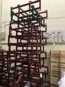 {LOT} 12 Keg & Barrel Holders - 11 Topco & 1 Western Square