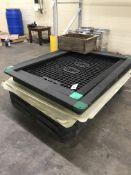 (4) Orbis RPM/ARD Heavy Duty Plastic Spill Pallets