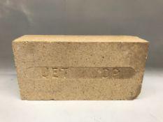 "(6) Boxes Jet DP Furnace Bricks 9""x2.5""x4.5"""