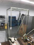 "Air Compressor UniStrut Enclosure w/ Sound Deafining Blankets 96""h 45""w 48""d"