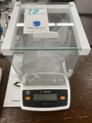 Sartorious #ENTRIS64-1S Digital Scale w/Glass Enclosure, Dust Cover & Manual) (No Power Supply