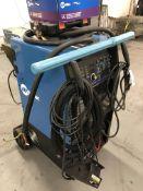 "Miller Syncrowave #350LX Portable Tig Welder w/Foot Pedal, Tig Gun, Leeds, 18"" #310 Rods, Additional"