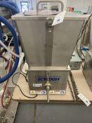 Tecweigh Volumetric Feeder w/Flex Feed Hopper System #E/CR5, Tecweight Drive Enabled Speed Control