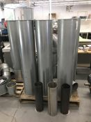 Nordfab Exhaust Vent w/ ducting and clamps