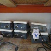 (6) CORNING MAG STIR PLATES-POWER ON