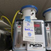 EMT TECH R25 REMOTE SLIT SAMPLER CONTROLLER-POWERS ON