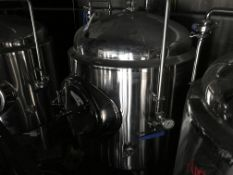 Apex 5 BBL Jacketed Brite Tank