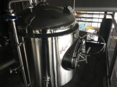 Apex 3.5 BBL Jacketed Brite Tank