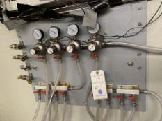 2 Micro-Matic 4 Port Beer Gauges w/ Valves