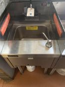 """18"""" Perlick SS Single Compartment Underbar Sink"""
