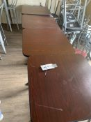 """(4) 24""""x 30"""" Laminate Top Cocktail Tables"""