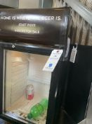 Avantco Counter Top Self Contained Illuminated Glass Door Refrigerator