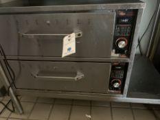 Hatco SS Electric 2-Door Warmer
