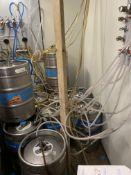 (25) 1/2 Barrel SS Kegs 5.5 Gallon w/Product