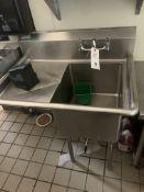 SS Single Comp Sink w/ Wing